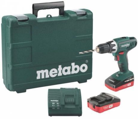 Аккумуляторная дрель-шуруповерт Metabo BS 18 Li 602116530
