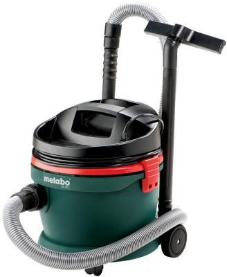 Промышленный пылесос Metabo AS 20 L (602012000) сухая влажная уборка зелёный чёрный