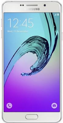 "Смартфон Samsung Galaxy A5 Duos 2016 белый 5.2"" 16 Гб NFC LTE Wi-Fi GPS SM-A510FZWDSER"