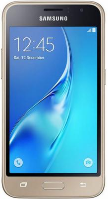 Смартфон Samsung Galaxy J1 2016 8 Гб золотистый (SM-J120FZDDSER) смартфон samsung galaxy j1 mini 2016 black