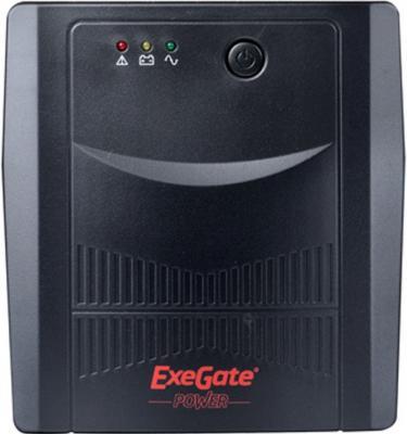 ИБП Exegate UNB-1000 600Вт 1000ВА черный EP212518RUS аккумулятор для ибп exegate power exg6120 234537