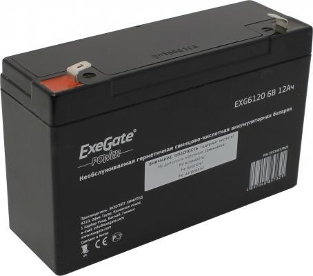 Батарея Exegate 6V 12Ah EXG6120 цена и фото