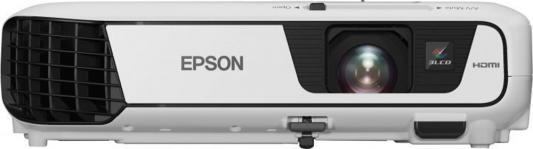 Проектор Epson EB-S31 800x600 3200 люмен 15000:1 белый V11H719040