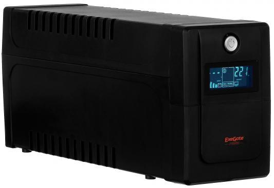 все цены на ИБП Exegate ULB-800 LCD 480Вт 800ВА черный EP212517RUS онлайн
