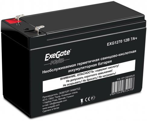 ������� Exegate 12V 7Ah EXS1270 ES252436RUS