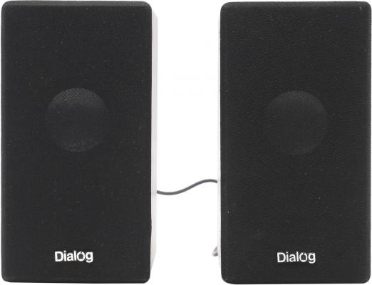 Колонки Dialog Stride AST-20UP 6W USB вишневый колонки dialog ad 07
