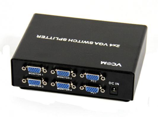 Разветвитель VGA 2-4 VCOM Telecom DD1824