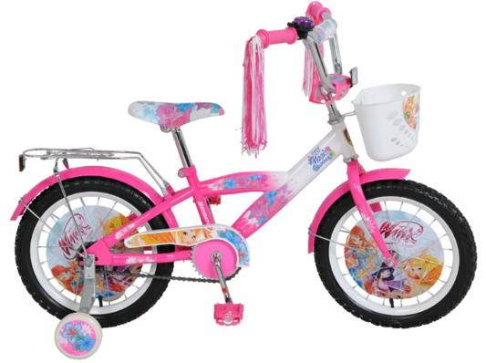"""Велосипед Navigator """"Winx"""" 16"""" бело-розовый ВН16050"""