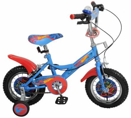 Велосипед Навигатор Hot Wheels KITE синий ВН12097 велосипед двухколёсный навигатор barbie 14 kite тип вн14150к