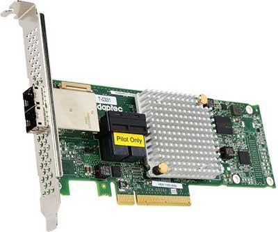 Контроллер Adaptec 1000-8i8e HBA 2288500-R контроллер sas adaptec 2288500 r 2288500 r