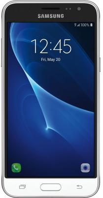 "Смартфон Samsung Galaxy J3 2016 белый 5"" 8 Гб LTE Wi-Fi GPS DUOS SM-J320FZWDSER"