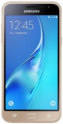 Смартфон Samsung Galaxy J3 2016 золотистый 5 8 Гб LTE Wi-Fi GPS 3G SM-J320FZDDSER смартфон samsung galaxy j2 prime черный 5 8 гб lte wi fi gps 3g sm g532fzkdser