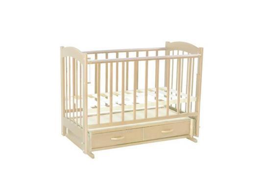 Кроватка с маятником Ведрус Радуга-4 (слоновая кость) кроватка с маятником sweet baby eligio avorio слоновая кость