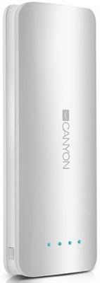 Портативное зарядное устройство Canyon CNE-CPB156W 15600мАч белый