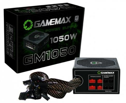 БП ATX 1050 Вт GameMax GM-1050 блок питания gamemax gm 500g 500w