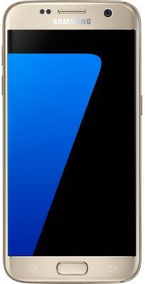 Смартфон Samsung Galaxy S7 золотистый 5.1 32 Гб NFC LTE Wi-Fi GPS 3G SM-G930FZDUSER Gold Platinum смартфон asus zenfone live zb501kl золотистый 5 32 гб lte wi fi gps 3g 90ak0072 m00140