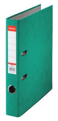 Папка-регистратор Esselte Rainbow А4 50мм картон зеленый 17922