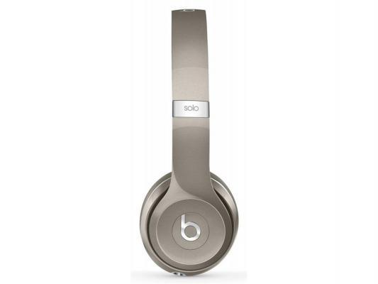 Наушники Apple Beats Solo 2 Luxe Edition серебристый MLA42ZE/A