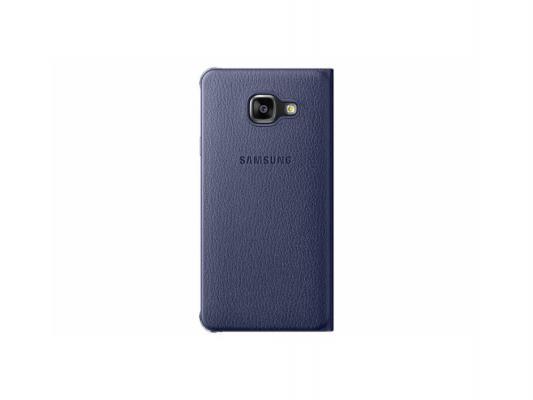 Чехол Samsung EF-WA310PBEGRU для Samsung Galaxy A3 2016 Flip Wallet черный чехол samsung ef wa310pzegru для samsung galaxy a3 2016 flip wallet розовый