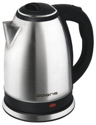 Чайник Polaris PWK 1737CA 1800 Вт серебристый 1.7 л металл  чайник polaris pwk 1864ca 1800 вт 1 8 л металл серебристый