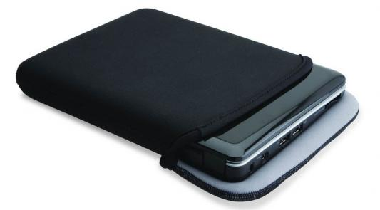"Чехол для нетбука 10.2"" Kensington Reversible Sleeve for Netbooks неопрен черный серый K62914EU"