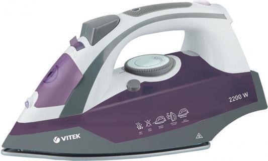 Утюг Vitek VT-1216 VT 2200Вт фиолетовый