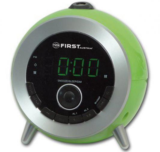 Часы с радиоприёмником First 2421-6 зеленый