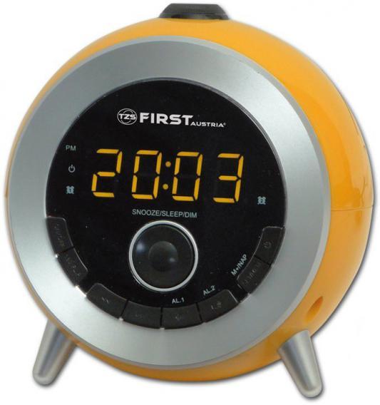 Часы с радиоприёмником First 2421-6 оранжевый