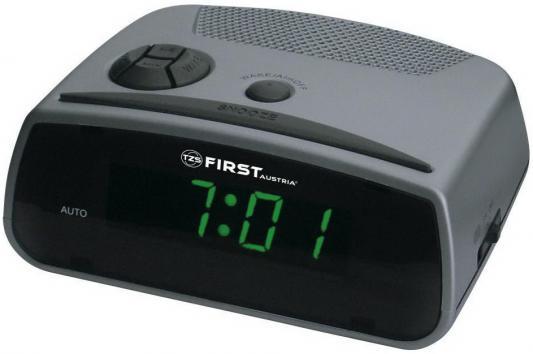 Часы с радиоприёмником First 2410 серый