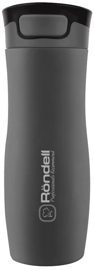 Термокружка Rondell RDS-497 0.45л серый thermocup rondell inspire 0 4 l rds 497