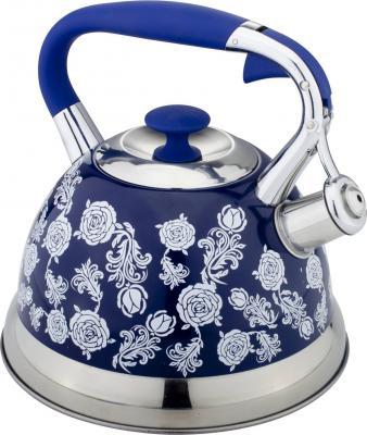 Чайник Bekker Premium BK-S588 рисунок синий 2.7 л нержавеющая сталь
