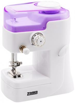 Швейная машина Zimber ZM-10917 бело-фиолетовый