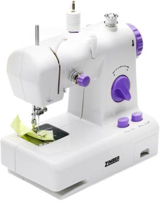 Швейная машина Zimber ZM-10919 бело-фиолетовый
