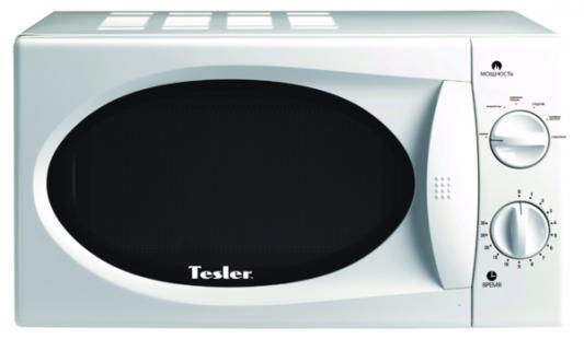 СВЧ TESLER MM-1712 700 Вт белый мультиварка tesler 500 челябинск