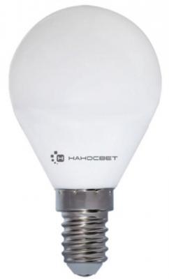 Лампа светодиодная шар Наносвет EcoLed E14 6.5W 2700K L128
