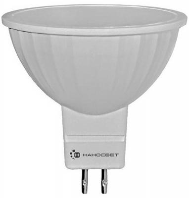 Лампа светодиодная полусфера Наносвет EcoLed GU5.3 4W 4000K L191