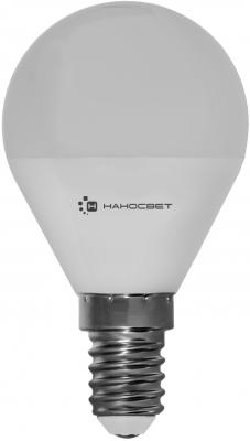 Лампа светодиодная шар Наносвет EcoLed L130 E14 6.5W 4000K подвесной светильник la lampada 130 l 130 8 40