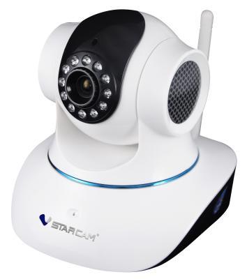 """Камера IP VStarcam T6835WIP CMOS 1/4"""" 640 x 480 MJPEG RJ-45 LAN Wi-Fi белый"""