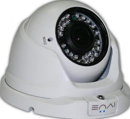 Камера видеонаблюдения Ivue HDC-OD20V2812-60 уличная цветная 1/3 SONY 2.8-18мм ИК до 30м ivue d5004 ahc d2 для дома и офиса 4 2 комплект видеонаблюдения