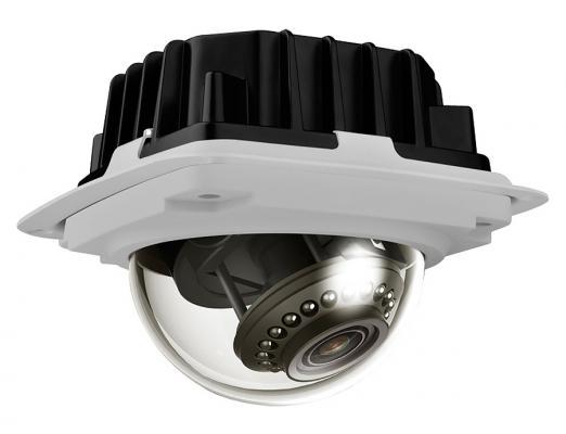 Камера IP ivue NW332P CMOS 1/3'' 1280 x 960 H.264 MJPEG MPEG-4 RJ-45 LAN PoE белый