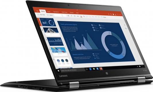 Ноутбук Lenovo ThinkPad X1 Yoga 14 2560x1440 Intel Core i7-6500U 20FQ0041RT адаптер питания topon top lt15 для lenovo thinkpad x1 flex 14 15 ideapad yoga s210 touch g500 g500s g505s g700 90w