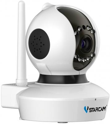 "Камера IP VStarcam C7838WIP(С7823) MINI CMOS 1/4"" 1280 x 720 H.264 Wi-Fi RJ-45 LAN PoE белый vstarcam c7838wip mini ip камера"