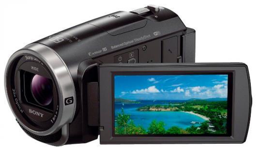 Цифровая видеокамера Sony HDR-CX625B 9.2Mpx 30xzoom 3'' черный
