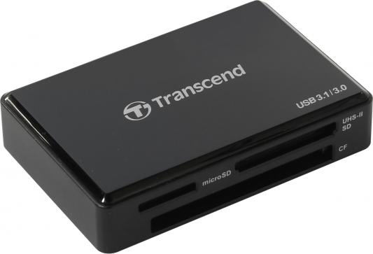 Картридер внешний Transcend TS-RDF9K USB 3.1/3.0 All-in-1 UHS-II черный free shipping 5pcs in stock tda3681ath