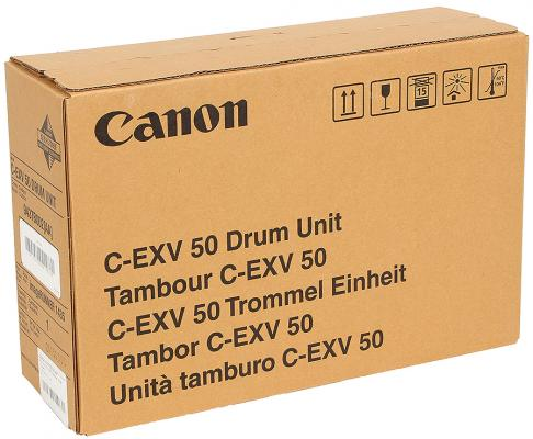 Фото - Фотобарабан Canon C-EXV50 для Canon iR-1435 iR-1435iF 17600 Черный 9437B002 картридж canon c exv34 3785b002 туба для копира ir c9060 c9065 c9070 желтый