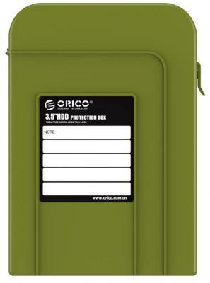 Чехол для HDD 3.5 Orico PHI-35-SN зеленый чехол для жесткого диска 2 5 orico phd 25 красный