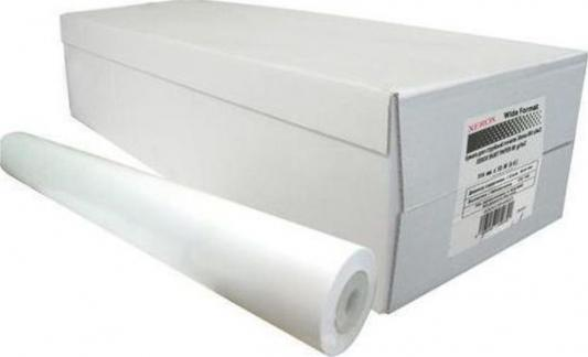 Бумага Xerox A0 914ммх50м 75г/м2 рулон матовая для струйной печати 450L90500 чехол для iphone 6 глянцевый printio боб марли bob marley