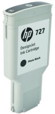 Картридж HP 727 F9J79A для DJ T920/T1500/2500/930/1530/2530 черный фото