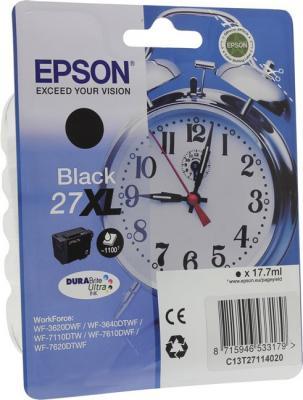 Картридж Epson C13T27114020 для WF-3620/3640/7110/7610/7620 черный