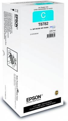 Картридж Epson C13T878240 для WF-R5190DTW/R5690DTWF голубой 50000стр картридж epson c13t838240 для epson workforce pro wf r5190dtw wf r5690df голубой